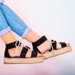 Sandale dama Hevo negre