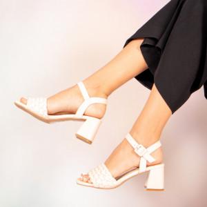 Sandale dama Jam bej