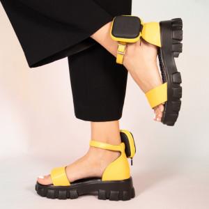 Sandale dama Pers galbene