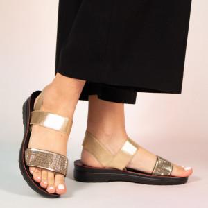 Sandale dama Poto aurii