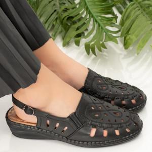 Sandale dama Rave negre