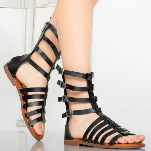 Sandale dama Rofa negre