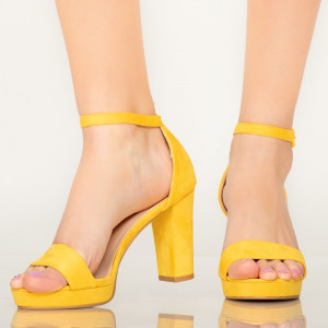 Sandale dama Roy galbene