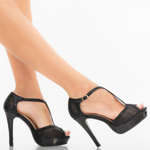 Sandale dama Stormi negre