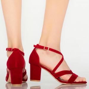 Sandale dama Sybil rosii