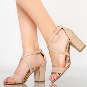 Sandale dama Vave aurii