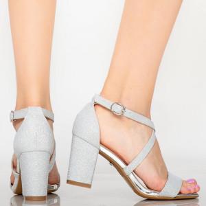 Vave silver women's sandals
