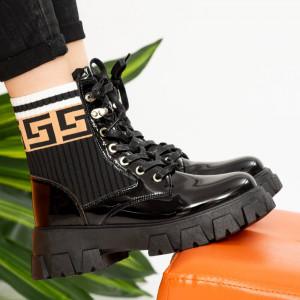 Γυναικείες μπότες Black Cif