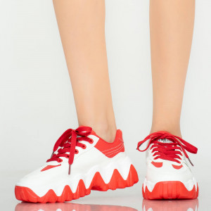 Adidasi dama Rale rosii