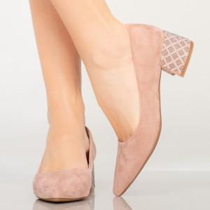 Boros rózsaszín női cipő