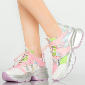 Damon női tornacipő rózsaszín
