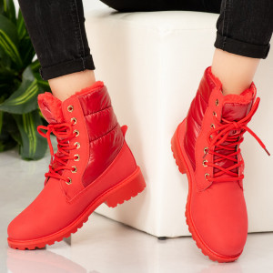 Fur boots Red gods