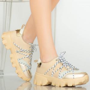 Női Aspe bézs cipők