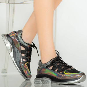 Női fekete cipők
