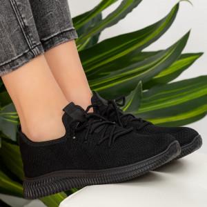 Női fekete Osca cipők
