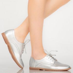 Pantofi casual Burn argintii