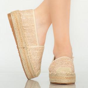 Pantofi casual Tudy bej