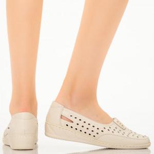 Pantofi dama Alio bej