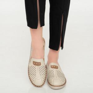 Pantofi dama Aua bej