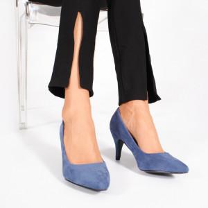 Pantofi Dama BRIC Albastri