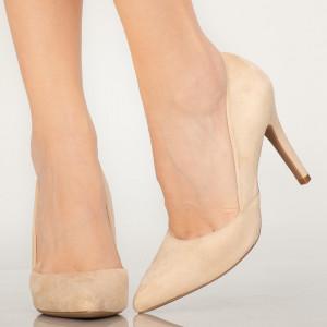 Pantofi dama Druna bej
