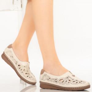 Pantofi dama Gon bej
