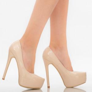 Pantofi dama Kayla bej