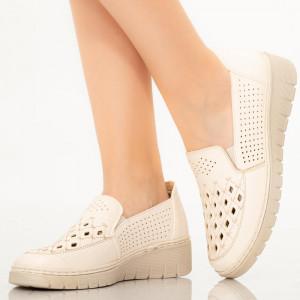 Pantofi dama Lavi albi