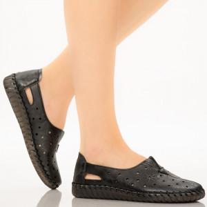Pantofi dama Mirar negre