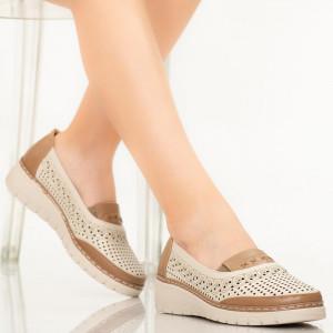 Pantofi dama Noma bej