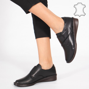 Pantofi Piele Naturala KAS Negri
