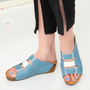 Papuci dama Abu albastri