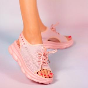 Rózsaszín atka hölgy platformok