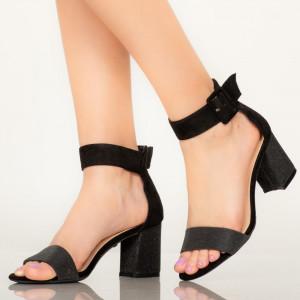 Sandale dama Aria negre