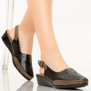 Sandale dama Doka negre