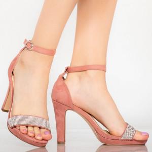 Sandale dama Edu roz
