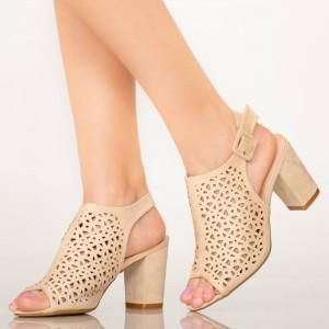 Sandale dama Hefe bej
