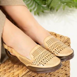 Sandale dama Jabi bej
