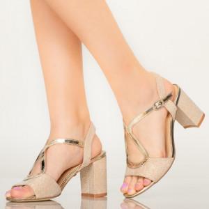 Sandale dama Joon aurii