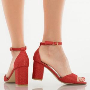 Sandale dama Matilda rosii