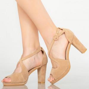 Sandale dama Mave bej