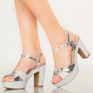 Sandale dama Mert argintii