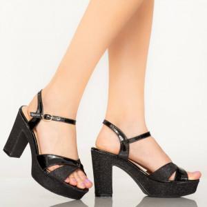 Sandale dama Mert negre