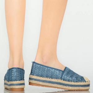 Tudy kék alkalmi cipő
