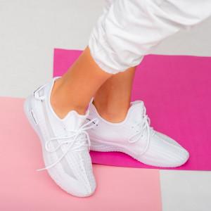 Бели маратонки Lady Larry