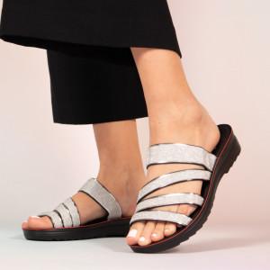 Тигани сиви чехли