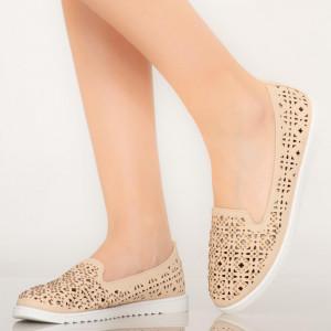 Bézs színű Vela alkalmi cipő