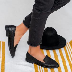 Cies fekete női cipő