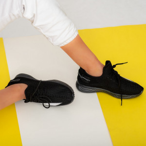 Cipők lady Larry fekete