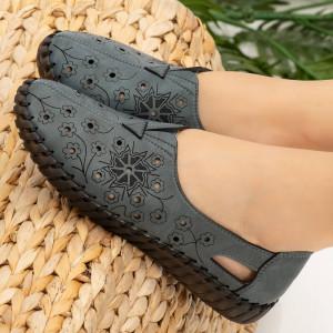 Mirar kék női cipő